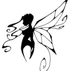 a fairy silhouette by GothicMoonlight