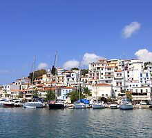 Skiathos Town by SeeOneSoul