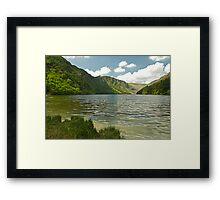 Upper Lake at Glendalough Framed Print