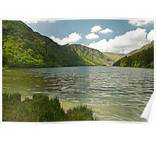 Upper Lake at Glendalough Poster