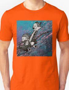 "Ode to Bill Watterson - ""Wagoneering"" T-Shirt"