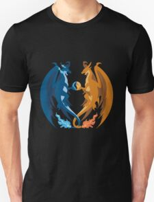 Mega Charizard X and Y: Sillhouettes T-Shirt