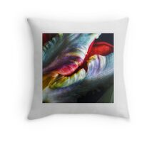 Tulip Abstract Throw Pillow