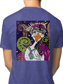 Swan Queen or Mother Goose? Tri-blend T-Shirt