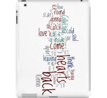 Jar of Hearts Wordle iPad Case/Skin