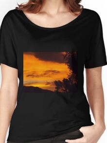 Sky Full Of Gold Women's Relaxed Fit T-Shirt