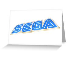 Sega Store in Akihabara Greeting Card