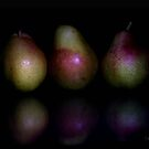 Three Pairs of Pears by Lorraine Creagh