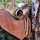 Rusted - Hill End NSW Australia by Bev Woodman