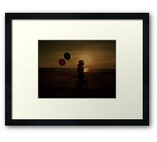 Magical Sunset Framed Print