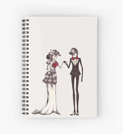 The Newly Weds Spiral Notebook