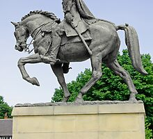 Bonnie Prince Charlie Statue, Derby by Rod Johnson