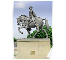 Bonnie Prince Charlie Statue, Derby Poster