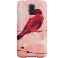 Bird on the Wire Samsung Galaxy Case/Skin