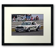 Pete Geoghegan 67 Ford Mustang GTA Framed Print