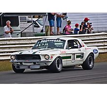 Pete Geoghegan 67 Ford Mustang GTA Photographic Print
