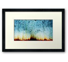 voyage to the bottom of the sea Framed Print