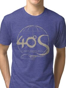 Whale sanctuary - 40ºS   Tri-blend T-Shirt