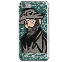 Mystery Man in the Beard iPhone Case/Skin