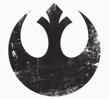 Star Wars Rebel Logo Black Kids Clothes