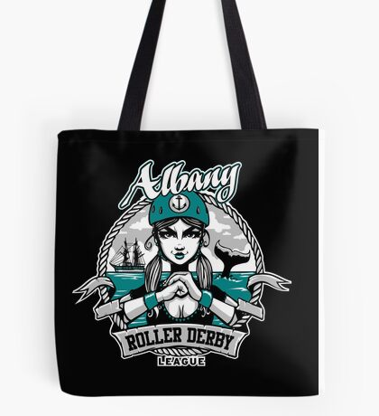 Albany Roller Derby League Logo Tote Bag