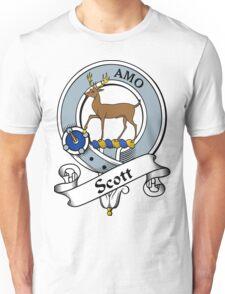 00012 Scott Clan Tartan  Unisex T-Shirt