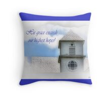 His grace... Throw Pillow
