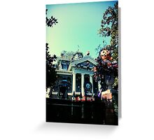 Haunted Mansion Holiday - Nightmare Before Christmas Greeting Card