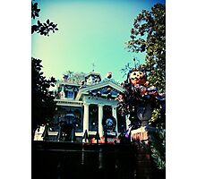 Haunted Mansion Holiday - Nightmare Before Christmas Photographic Print