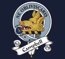 00014 Campbell Clan Tartan  Kids Tee