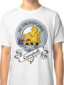 00014 Campbell Clan Tartan  Classic T-Shirt