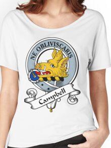 00014 Campbell Clan Tartan  Women's Relaxed Fit T-Shirt