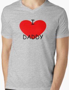 I love my Daddy Mens V-Neck T-Shirt