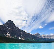 Waterfowl Lake by Don Arsenault