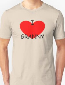 I love my Granny Unisex T-Shirt