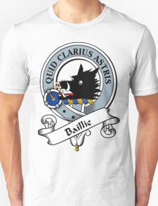 00017 The House of Bailey Clan Tartan  T-Shirt