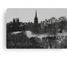 Grey day Canvas Print