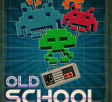 Old School Gamer by Ewan Arnolda