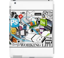 My Working Life iPad Case/Skin