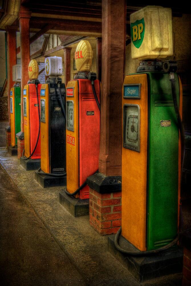 Vintage Pumps by ajgosling