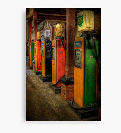 Vintage Pumps Canvas Print