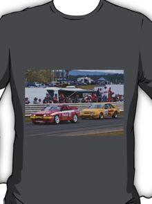 Skaife Skyline GTR R32 and Pinepac Ford Mustang T-Shirt