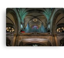 Manila Cathedral Pipes Canvas Print