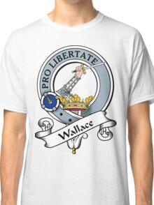 00026 Wallace Clan/Family Tartan Classic T-Shirt
