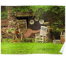 Grandmas Garden Poster