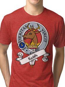 00028 Marshall #2 Clan/Family Tartan  Tri-blend T-Shirt