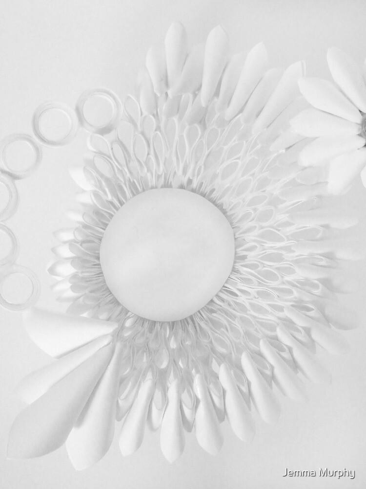 paper flower back by Jemma Murphy
