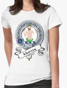 00029 Murray Clan/Family Tartan Womens Fitted T-Shirt