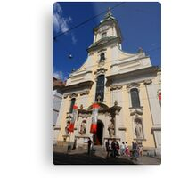 City Parish Church, Graz  Metal Print