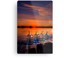 In the morning at 4.33 Metal Print